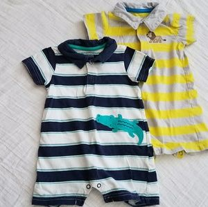 Carter's Rompers Set- 12 Months